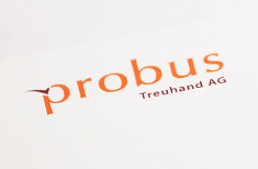 Corporate Design Probus Treuhand